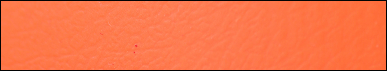 neonorange in 2,5mm und 3,8mm Stärke
