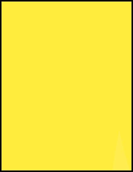 gelb deckend