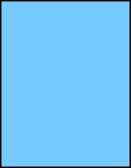 hellblau deckend