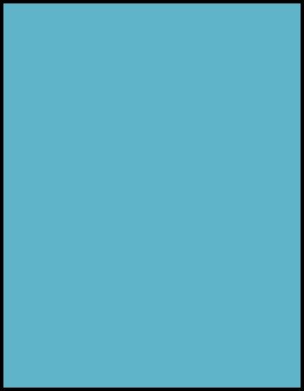 türkisblau deckend