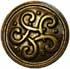 Keltischer Knoten 22m gold