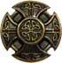 Keltisches Kreuz 22mm gold