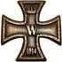 Höhste Kreuz der Kelten 40mm gold