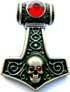 Skullhammer rot 30 x 40mm
