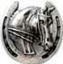 Pferdeamulett 40mm